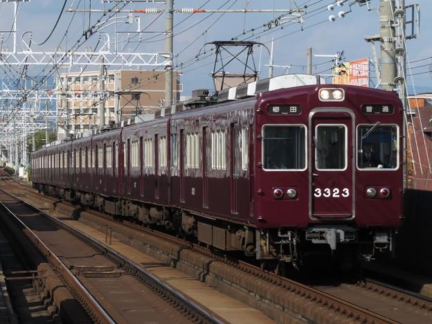 阪急京都線3300系 3323F