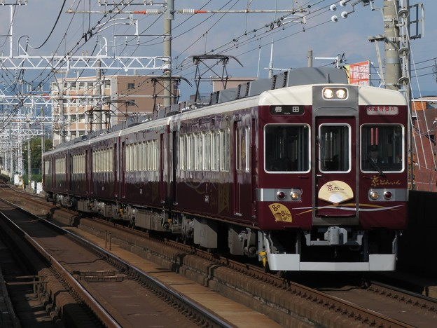 阪急京都線6300系京とれいん 6354F