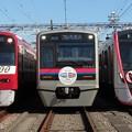 京急2117F・京成3042F・都営5504F 3並び