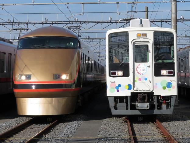 東武103F・634-11F 2並び