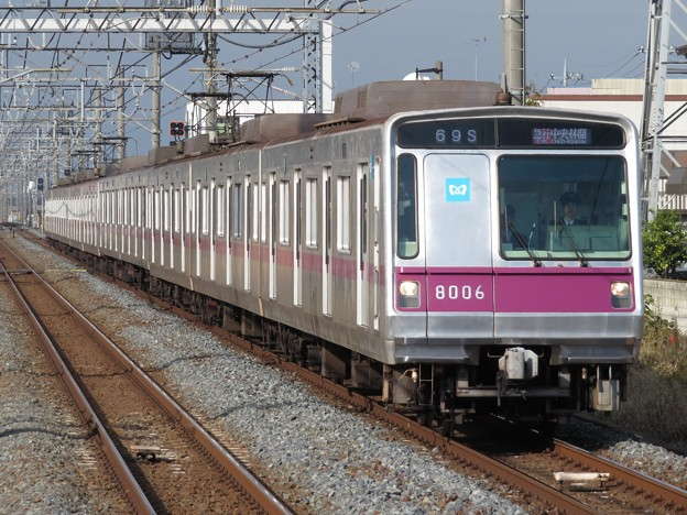 東京メトロ半蔵門線8000系 8106F