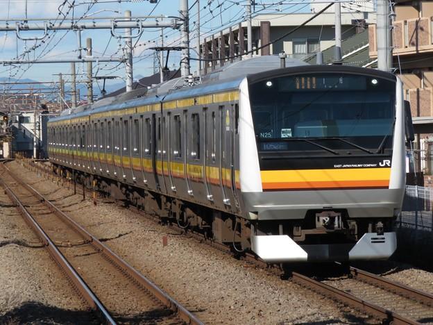 南武線E233系8000番台 N25編成