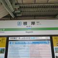 Photos: #JK07 根岸駅 駅名標【上り】