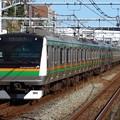 東海道線E233系3000番台 E-02+S-28編成