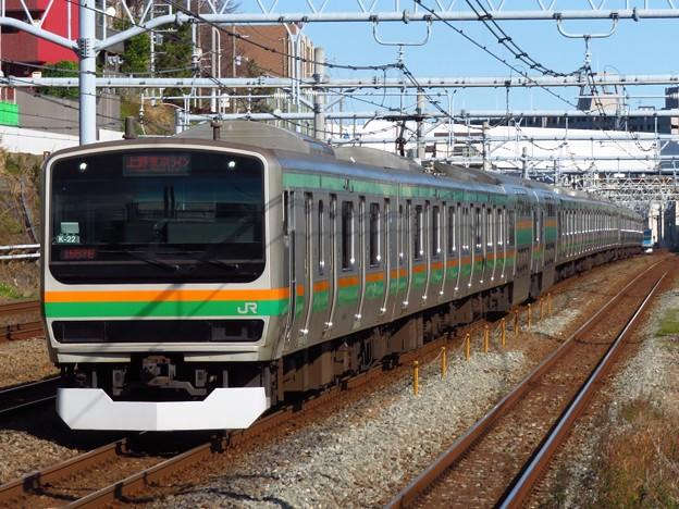 東海道線E231系1000番台 K-22+E-56編成