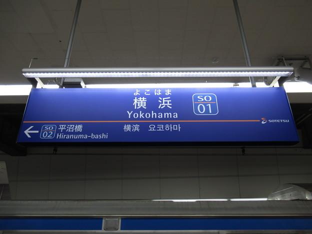 Photos: #SO01 横浜駅 駅名標