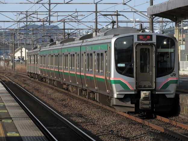東北線E721系1000番台 P4-16+F2-508編成
