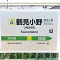Photos: #JI03 鶴見小野駅 駅名標【上り】
