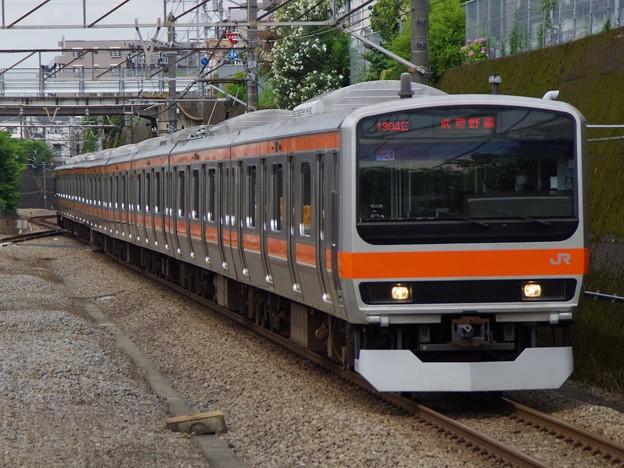武蔵野線E231系0番台 MU20編成