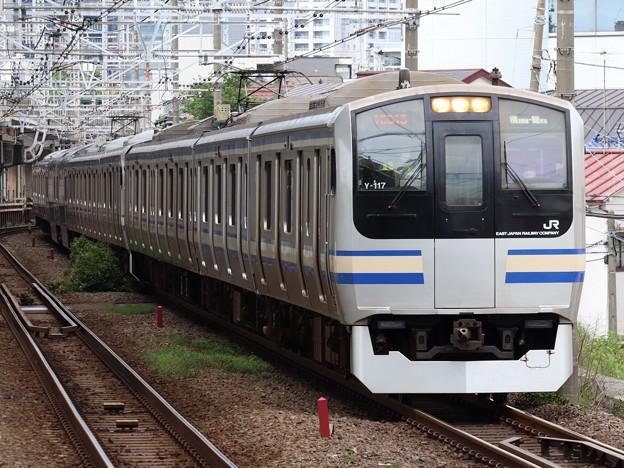 Photos: 横須賀・総武快速線E217系 Y-117+Y-40編成