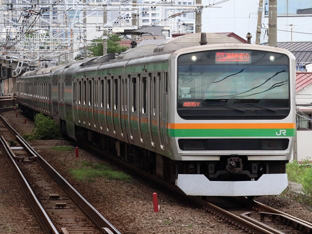 湘南新宿ラインE231系1000番台 K-09+S-25編成