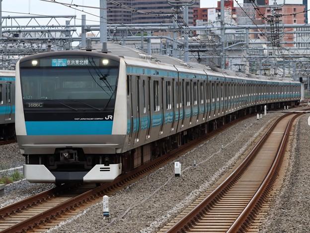 京浜東北・根岸線E233系1000番台 サイ121編成