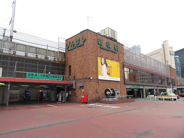 新橋駅 汐留口