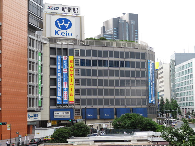 新宿駅 西口(京王)