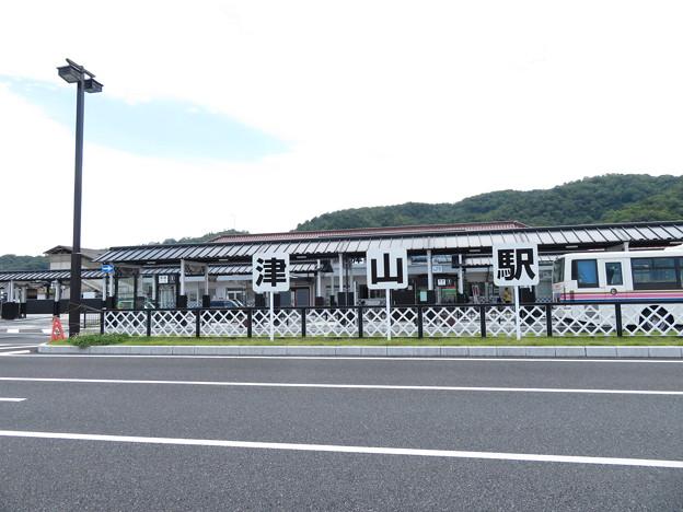 津山駅(遠景)
