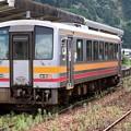 Photos: 姫新線キハ120形300番台 キハ120-328