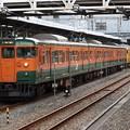 Photos: 山陽線115系1000番台 D-27+D-09編成