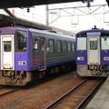 キハ120-301・キハ120-13 2並び