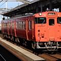 Photos: 山陰線キハ47形 キハ47 1054+キハ47 37