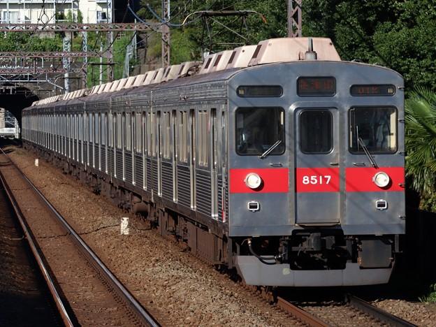 田園都市線8500系 8617F