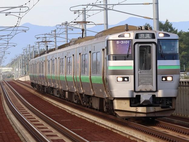 函館線733系3000番台 B-3101+B-3201編成