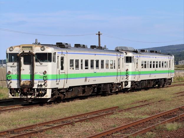 函館線キハ40系 キハ40 1803+キハ40 734