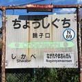 #N69 銚子口駅 駅名標【上り】