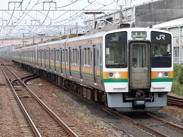 中央西線211系5000番台 K115+K108+K19編成