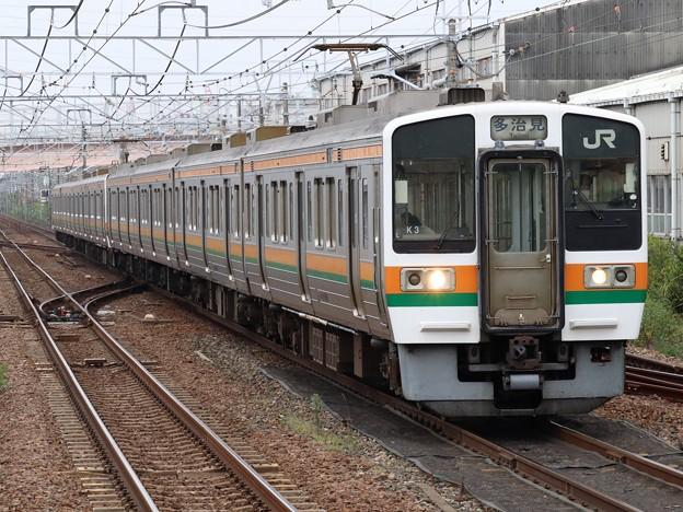 中央西線211系5000番台 K3+K12編成