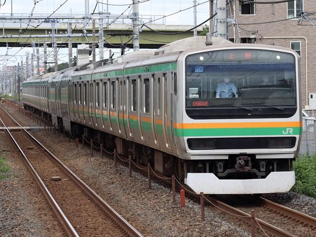 宇都宮線E231系1000番台 U536編成