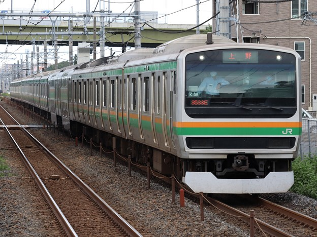 宇都宮線E231系1000番台 K-05+E52編成