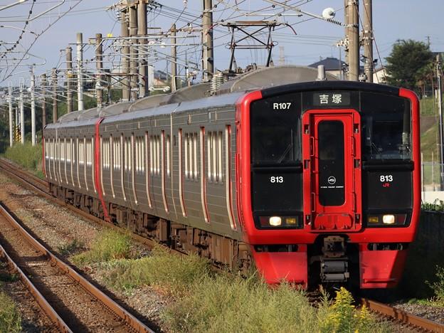 長崎線813系100番台 R107+R222編成