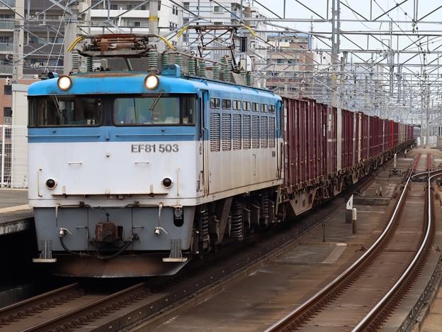 EF81 503+コキ