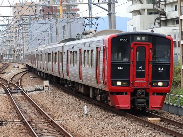 鹿児島線813系 R006+P16編成