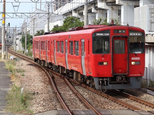 久大線キハ200系 キハ200-13+キハ200-1013