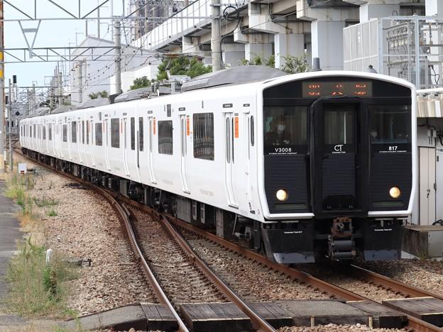 鹿児島線817系3000番台 V3008+V3002編成