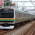 Photos: 東海道線E231系1000番台 K-41編成他15両編成
