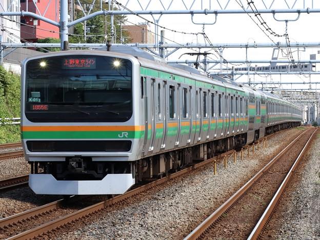 東海道線E231系1000番台 K-01+S-17編成