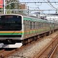 Photos: 東海道線E231系1000番台 U-591編成他15両編成
