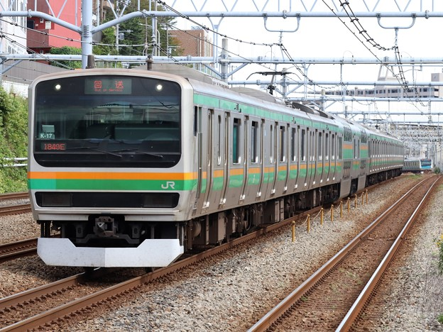 東海道線E231系1000番台 K-17編成