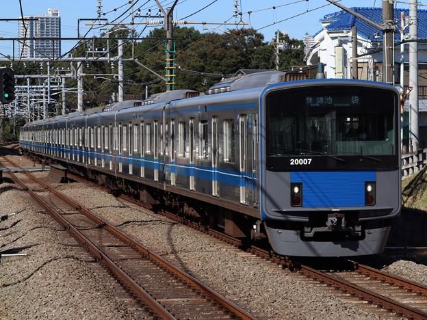 西武池袋線20000系 20107F