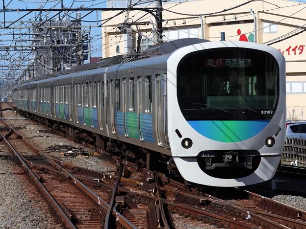 西武新宿線30000系 30102F