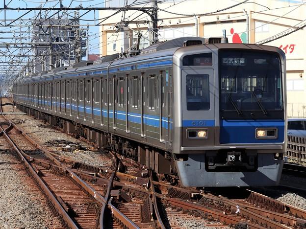 西武新宿線6000系 6101F