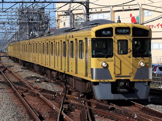 西武新宿線2000系 2509F+2529F