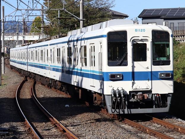 東武越生線8000系 81120F