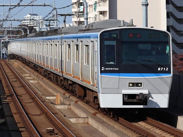 相鉄線8000系 8712F