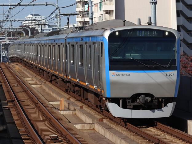 相鉄線11000系 11001F
