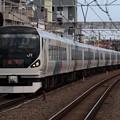 回送列車E257系0番台 M-111編成
