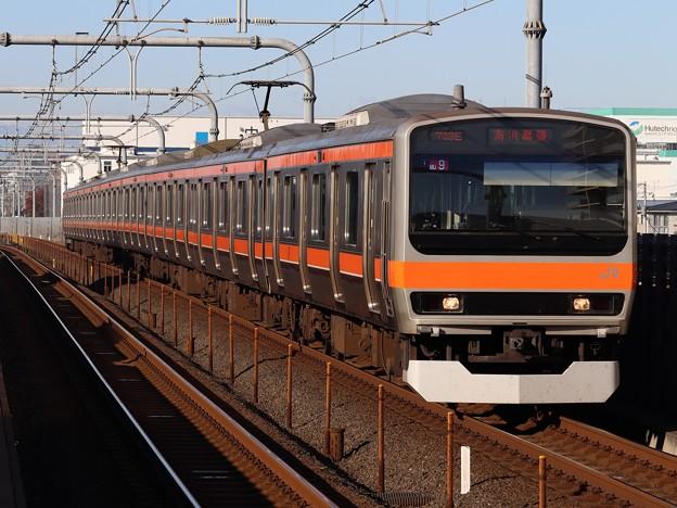 Photos: 武蔵野線E231系0番台 MU9編成