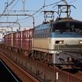 Photos: EF66 125+コキ